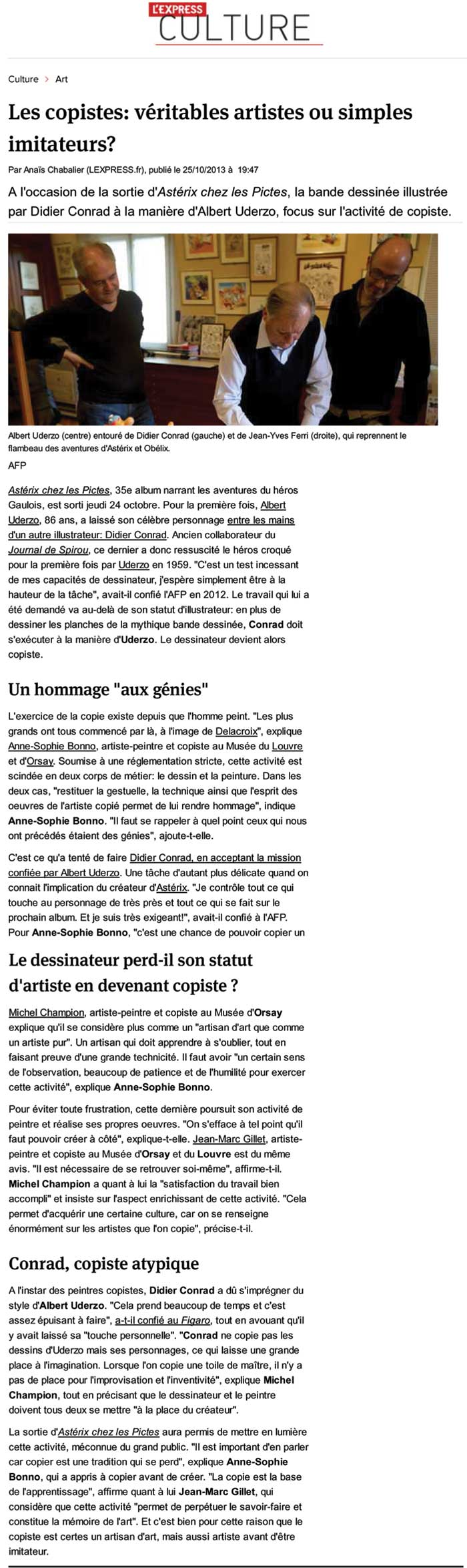 Article l'Express