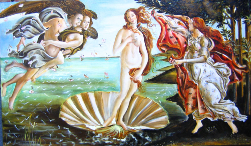 Botticelli, tempera on panel