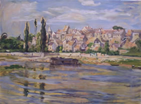 Claude Monet - Carrieres St Denis, aujourd'hui Carrieres sur Seine