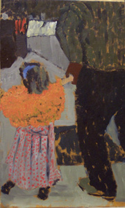 Vuillard - La fillette au châle orange
